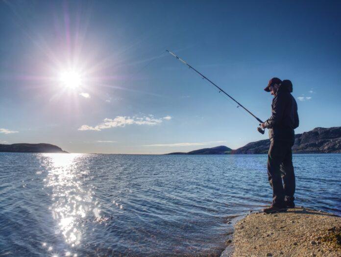 Pêche en mer du bord